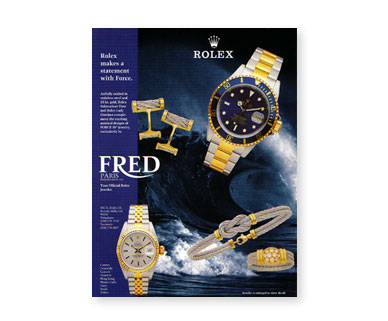 Meyers Design Inc Fred Jewelry advertisement